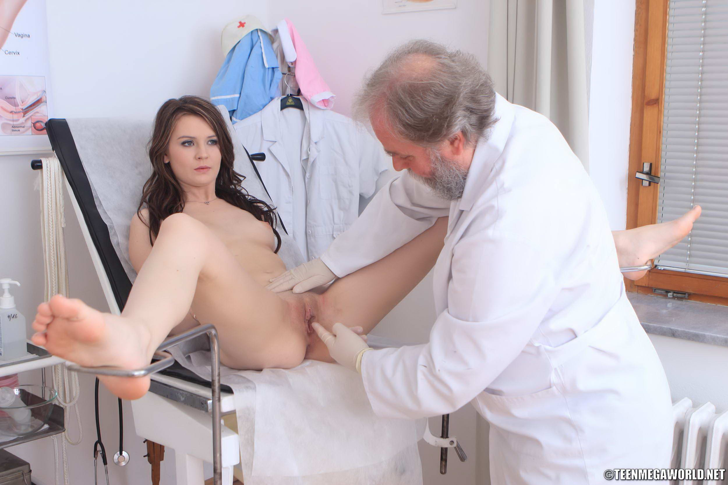 Dirty old doctor fucks busty patient 3